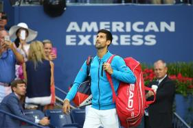 Novak Djokovic Frustrated as Rain Rules at Eastbourne