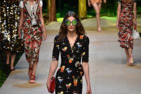 Dolce & Gabbana Gets Milan Dancing to Tropical Beat