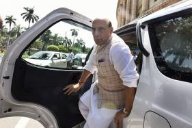Rajnath Singh Briefs Political Leaders on Surgical Strikes Across LoC