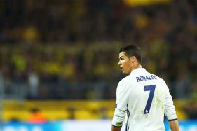 Cristiano Ronaldo's Private Plane Crashlands in Barcelona