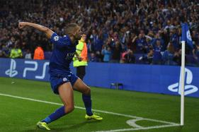 Champions League: Islam Slimani Scores As Leicester City Beat Porto