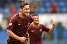Roma's Francesco Totti Reaches 250-Goal Mark in Serie A
