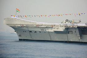Indian Navy Says Goodbye to World's Oldest Aircraft Carrier INS Viraat
