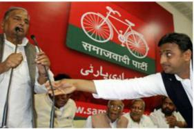 How Samajwadi Party Will Look Like if it Splits