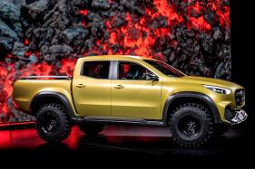 Mercedes-Benz X-Class Pickup Truck Unveiled, To Launch in 2017