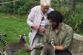 Judi Dench and Ali Fazal's Day Out in The Zoo