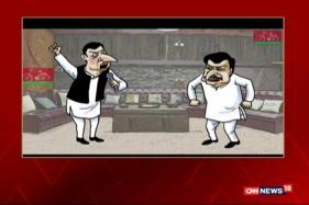 Neelabh's Toon: Akhilesh, Shivpal Spar Creates Rift in Samajwadi Party