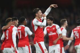 Champions League: Mesut Ozil Nets Hat-Trick as Arsenal Thrash Ludogorets 6-0