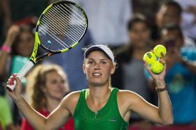 Caroline Wozniacki Beats Kristina Mladenovic to Win Hong Kong Open