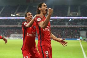 Edinson Cavani Voted the Best Ligue 1 Footballer by Fellow Professionals