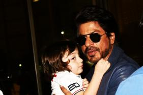 SRK Thanks Fans for Their Unconditional Love For Son AbRam
