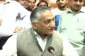 BJD Burns VK Singh's Effigy Over Special Category Status For Odisha