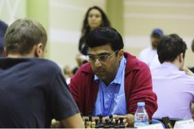 Anand Draws With Giri; Slips to Joint 2nd in Tata Steel Chess