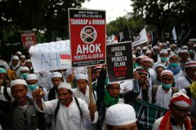 Sea of Protesters in Jakarta Amid Fury Over Christian Governor