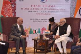 President Ghani Hails 'Unconditional' Indian Support for Afghan Development