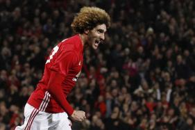 Champions League: Fix-it Fellaini Gets Manchester United Off The Mark