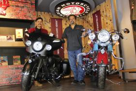 Indian Chieftain Dark Horse And Indian Springfield Introduced in Bengaluru