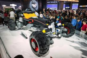 Lego Batmobile Wows the Crowds at Detroit Auto Show