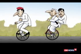 Neelabh Toon: Akhilesh Yadav Gets the Cycle Symbol