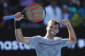 Australian Open 2017: Grigor Dimitrov Downs David Goffin to Reach Semis