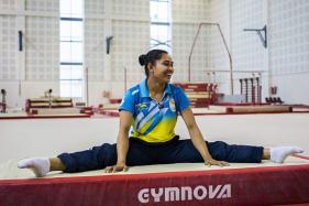 Fit-again Dipa Looks Up to Aliya Mustafina for Inspiration