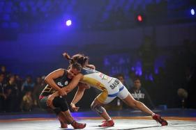 Asian Wrestling: Sakshi Malik, Vinesh Phogat Settle for Silver