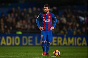 Messi 'Seriously Considering Leaving Barcelona'; Man City Line-up £300m Bid