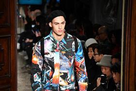 Crazy Patterns, Dark Undertones: Milan Men's Fashion Week Gets Underway