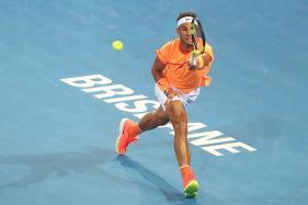 Milos Raonic Knocks Out Rafael Nadal to Join Wawrinka in Brisbane Semis