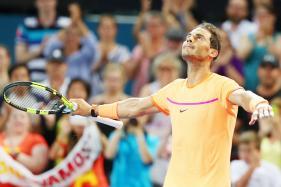 Rafael Nadal Beats Alexandr Dolgopolov on Return to Action in Brisbane