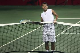 Leander Paes Begins Training for Davis Cup