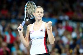 Karolina Pliskova Pulls Out of Sydney International With Thigh Injury