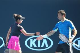 Australian Open 2017: Sania-Dodig Beat Bopanna-Dabrowski to Enter Semis