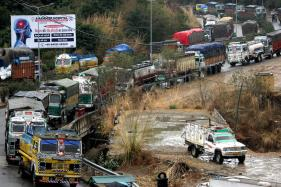 Jammu-Srinagar Highway Closed Due to Multiple Landslides