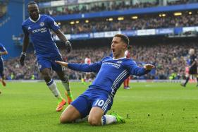 Hazard Hits Double as Conte Thanks Chelsea Fans for Support