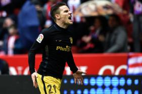Kevin Gameiro Slams Hat-Trick in Five Minutes as Atletico Beat Gijon