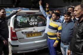 Uber, Ola Drivers Start Protest With Indefinite Fast in Bengaluru
