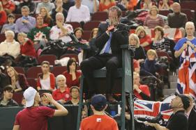 Davis Cup Umpire Hit by Ball Undergoes Surgery