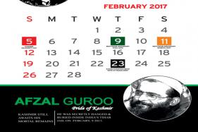 Now, a Calendar Highlighting 'Achievements' of Burhan, Afzal in J-K