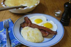 Cheesy Baked Grits a Deeply Satisfying Staple