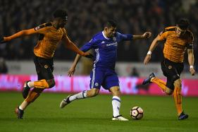 Chelsea's Pedro, Costa Muzzle Wolves in FA Cup