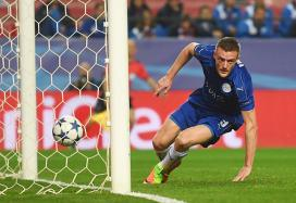 Champions League: Vardy Gives Leicester Hope in Sevilla Defeat