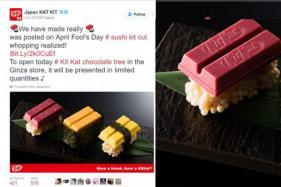 Japan's Sushi Inspired Kit Kat Comes in tuna, egg, sea urchin varieties