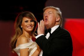 Melania Trump Slaps Away Donald Trump's Hand Upon Arriving In Israel