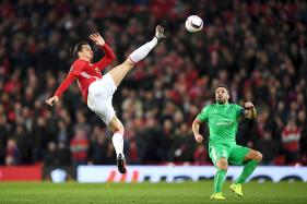 Europa League: Zlatan Ibrahimovic Nets Hat-trick as Manchester United Beat St Etienne 3-0