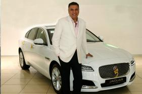 Boman Irani Gets Himself the Updated Jaguar XF