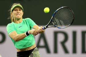 Eugenie Bouchard Crashes Out of Indian Wells