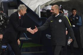 Arsene Wenger Stands In the Way of Pep Guardiola's First Trophy at Man City