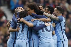 FA Cup: Aguero, Silva Score as Manchester City Enter Semis