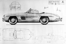 Celebrating 60 Years of The Mercedes SL Roadster
